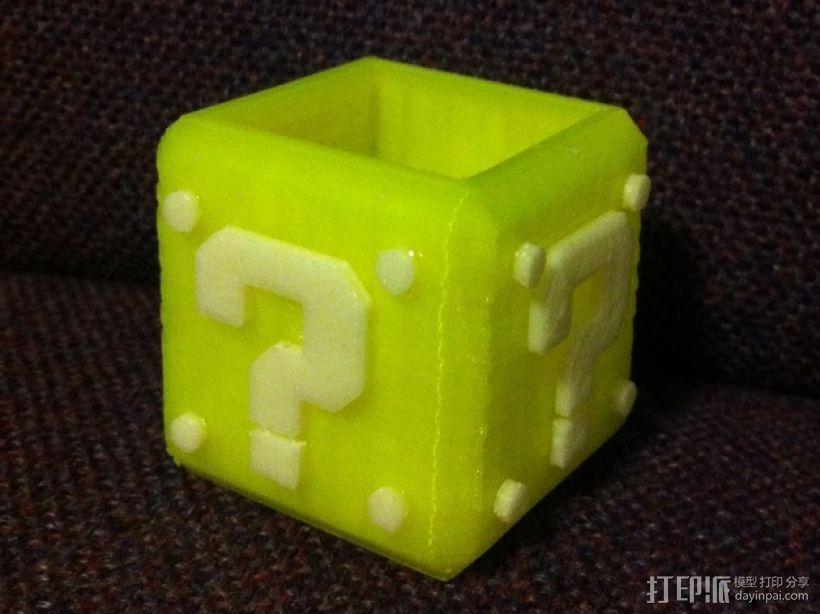 马里奥问号形小酒杯 3D模型  图6