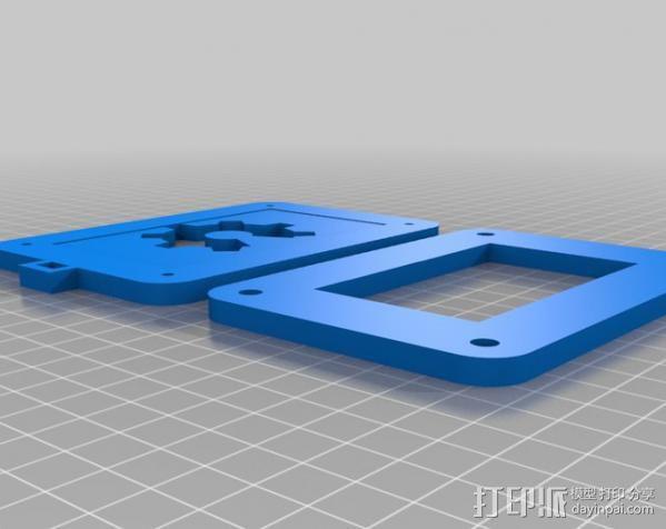 定制化行李牌 3D模型  图1