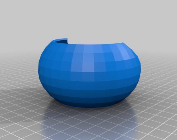 迷你胶囊咖啡盒 3D模型  图1