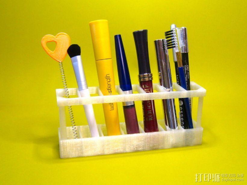 迷你化妆品架 3D模型  图1