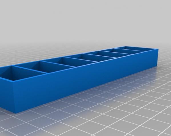 迷你化妆品架 3D模型  图2