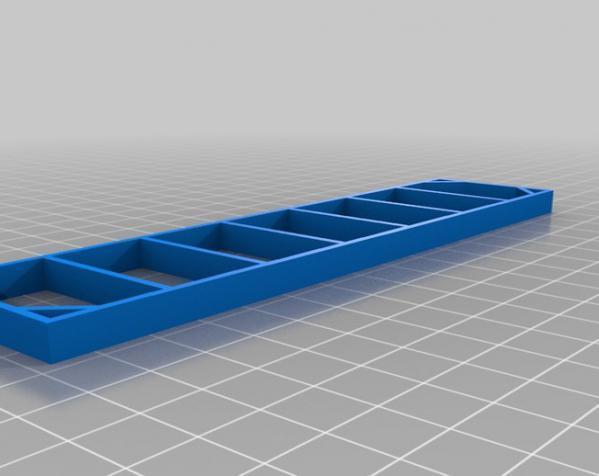 迷你化妆品架 3D模型  图3