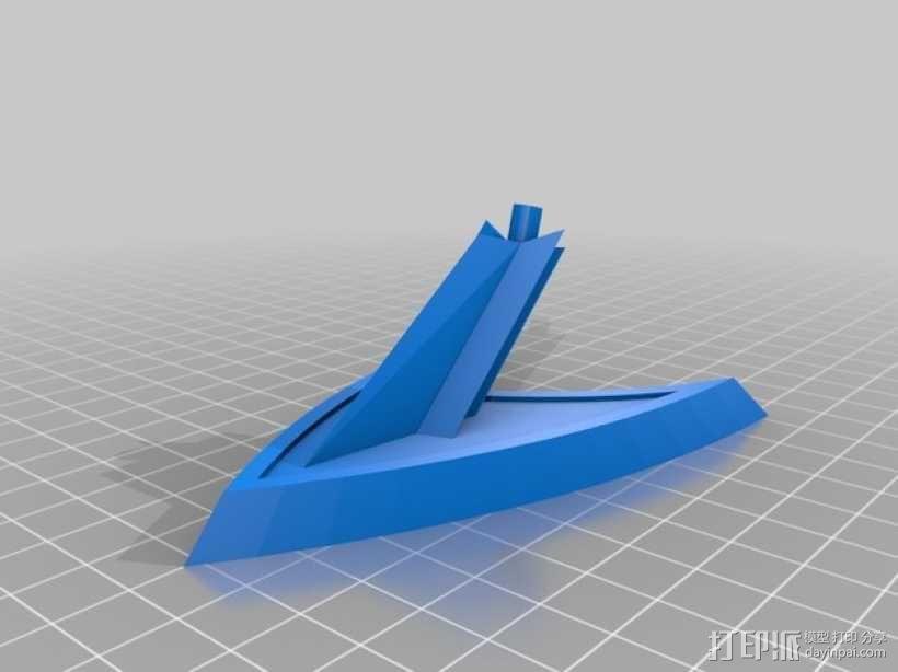 披萨刀底座 3D模型  图3
