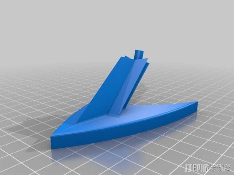 披萨刀底座 3D模型  图5