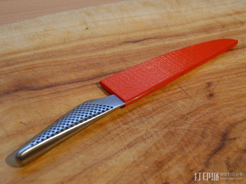 厨用刀具保护套 3D模型  图2