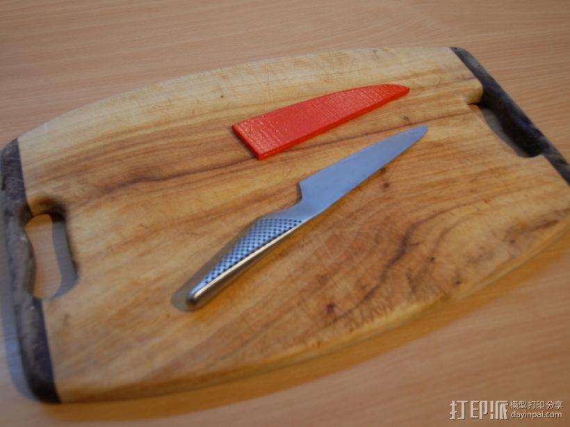 厨用刀具保护套 3D模型  图1
