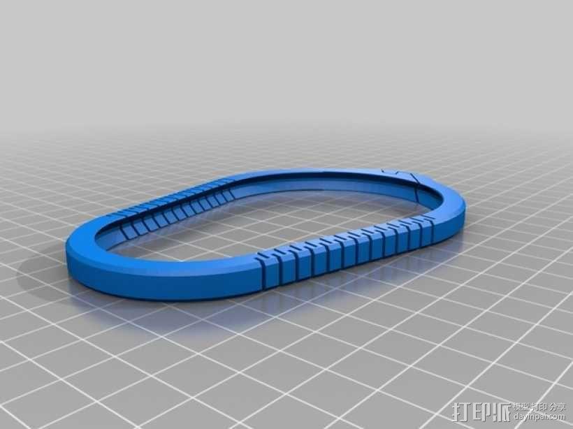 造型各异夹袋器 3D模型  图3