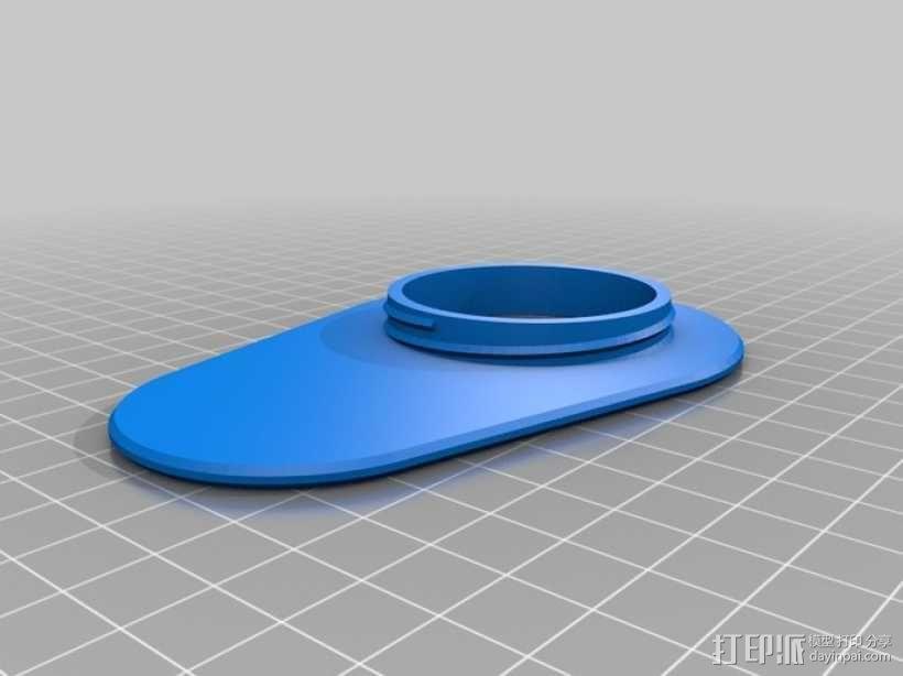 造型各异夹袋器 3D模型  图9