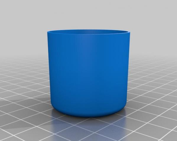 定制化圆形托盘 3D模型  图3