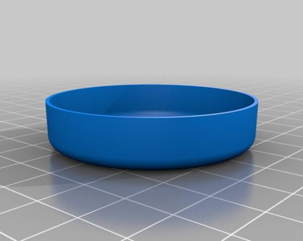 定制化圆形托盘 3D模型  图6