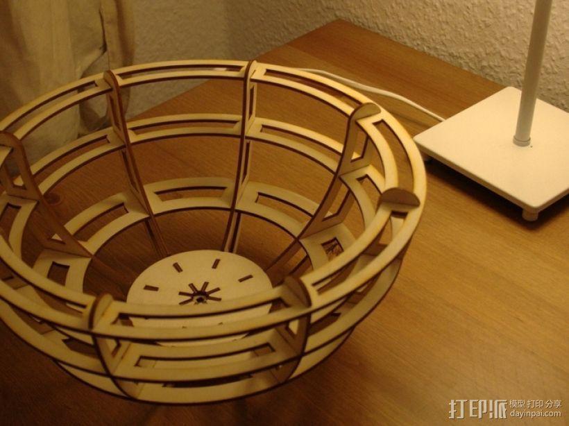 激光切割小碗 3D模型  图3