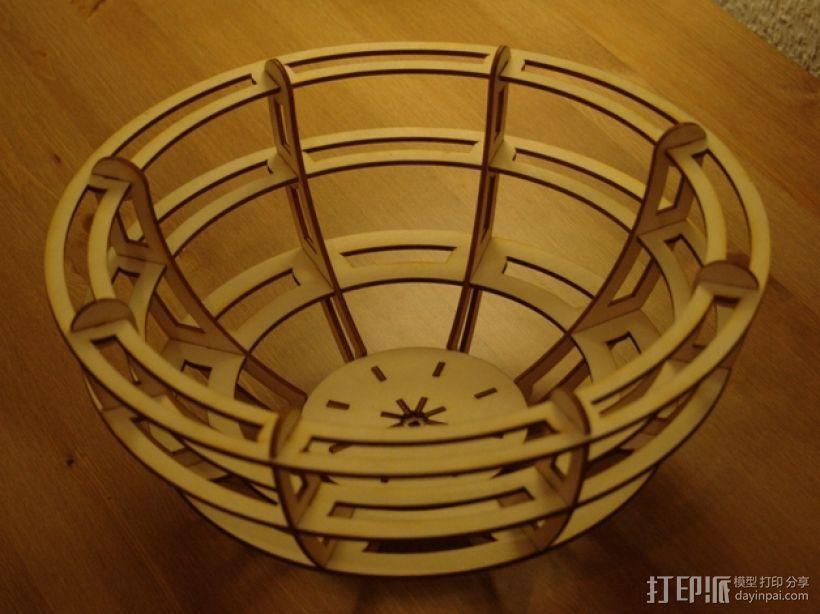 激光切割小碗 3D模型  图4