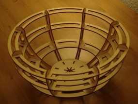 激光切割小碗 3D模型