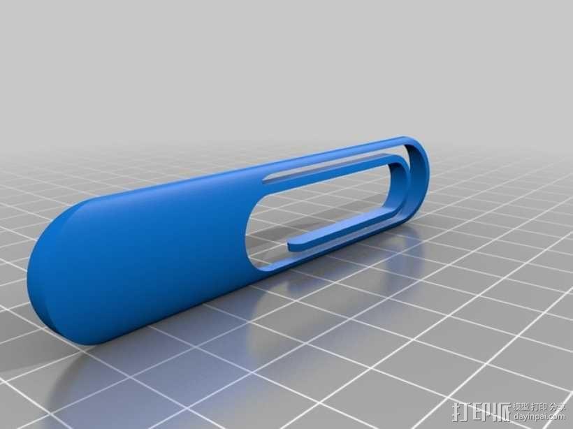 迷你回形针 3D模型  图2