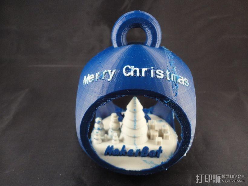 参数化圣诞树装饰品 3D模型  图5