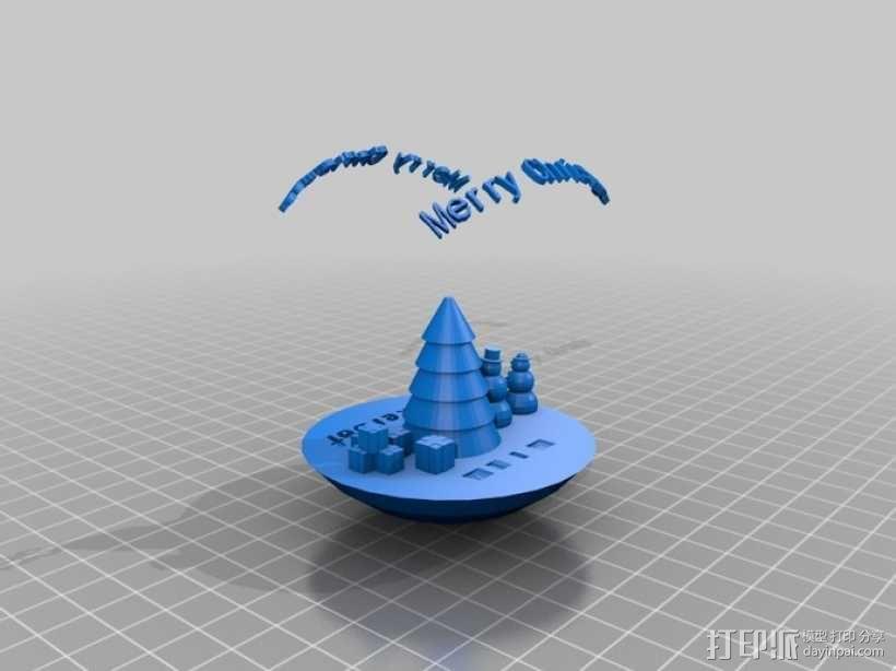 参数化圣诞树装饰品 3D模型  图7