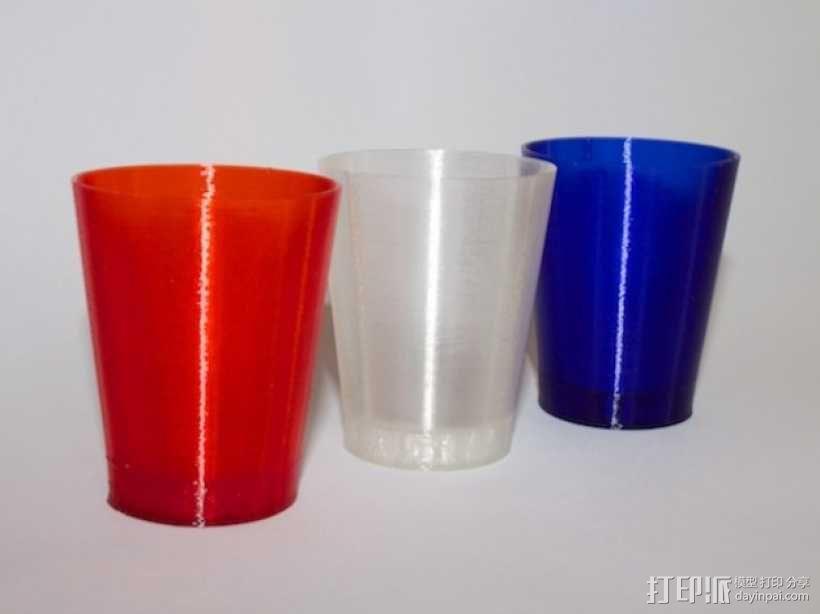 迷你酒杯 3D模型  图1