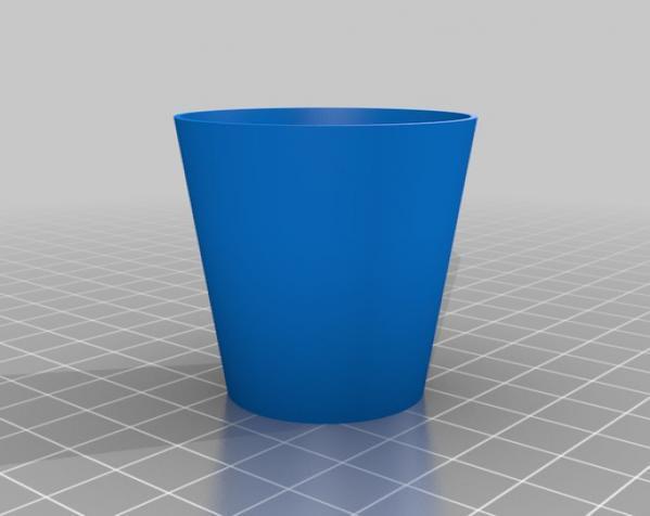 迷你酒杯 3D模型  图2