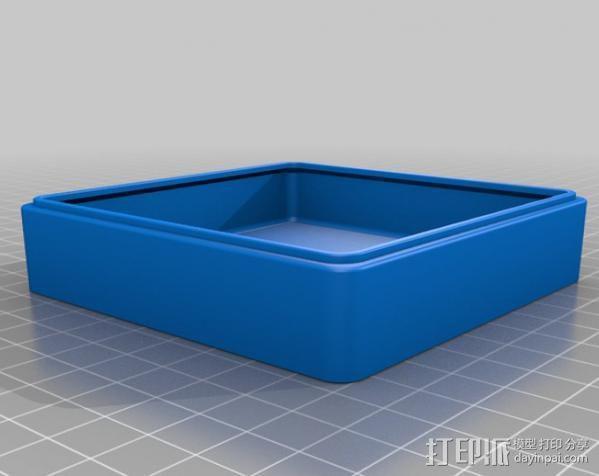 迷你抽屉盒 3D模型  图4
