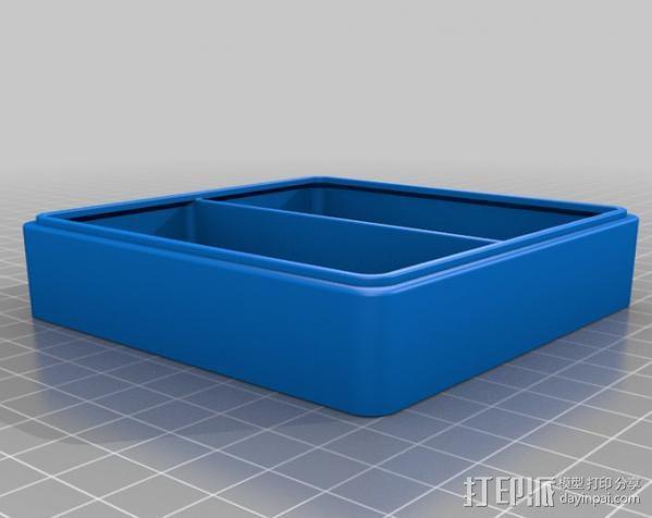 迷你抽屉盒 3D模型  图5