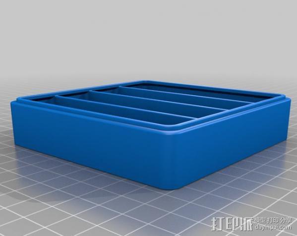 迷你抽屉盒 3D模型  图6