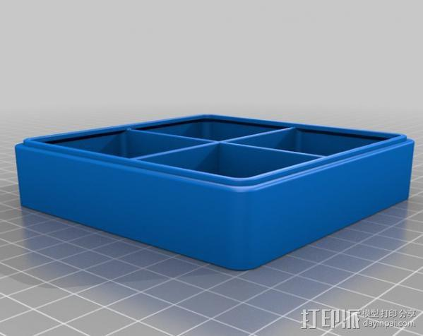 迷你抽屉盒 3D模型  图7