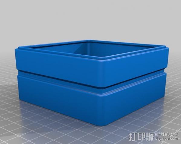迷你抽屉盒 3D模型  图9