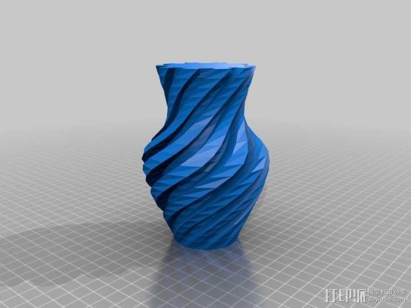 螺旋形Geary瓮/缸 3D模型  图1
