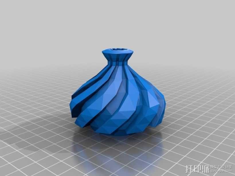 螺旋形Geary瓮/缸 3D模型  图2