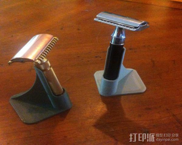 剃须刀架 3D模型  图3