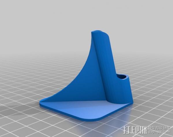 剃须刀架 3D模型  图1