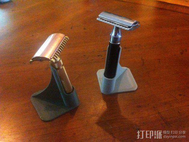 剃须刀架 3D模型  图2