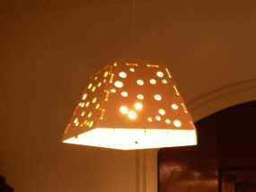 参数化灯罩 3D模型