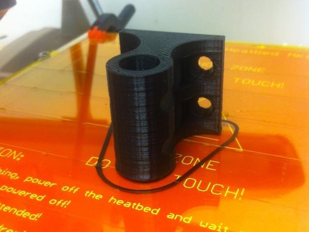 壁挂式灯具底座 3D模型  图2