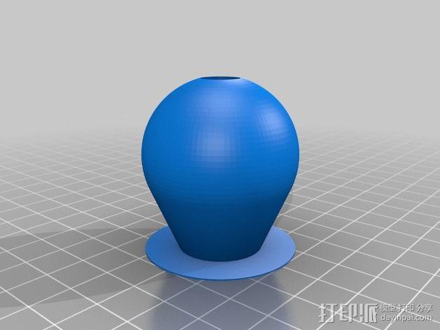 壁挂式曲柄 3D模型  图3