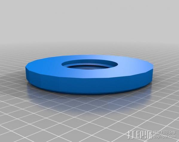 壁挂式曲柄 3D模型  图5