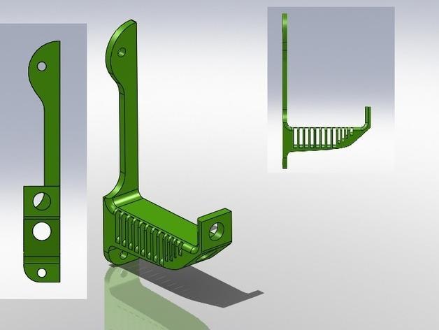 花园雨水槽 3D模型  图1