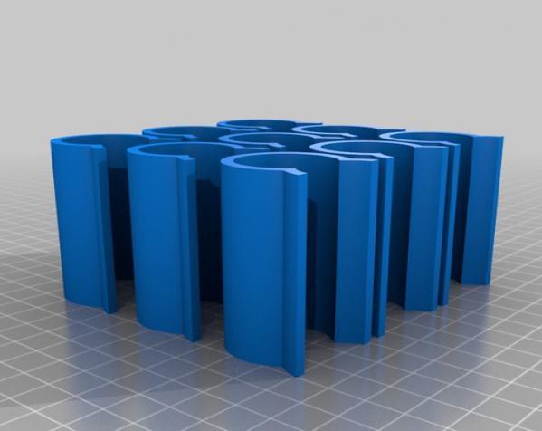 温室U形夹 3D模型  图2