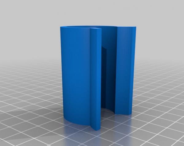 温室U形夹 3D模型  图1