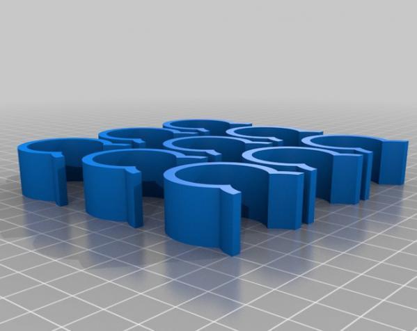 温室U形夹 3D模型  图3