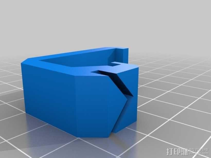 壁挂式养殖管道 3D模型  图6