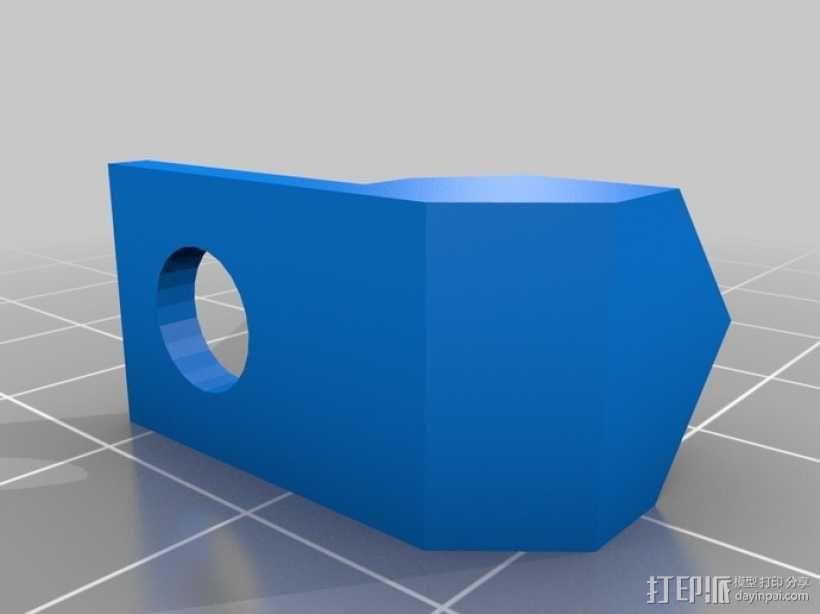 壁挂式养殖管道 3D模型  图5