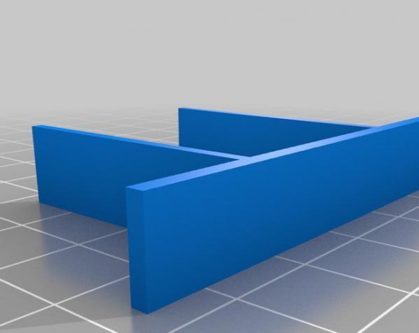 Altoids小盒分隔板 3D模型  图1