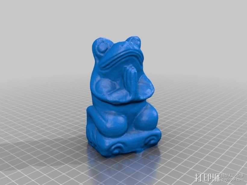 青蛙/蟾蜍 3D模型  图2