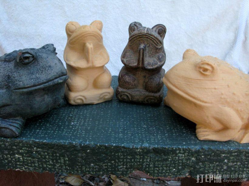 青蛙/蟾蜍 3D模型  图1