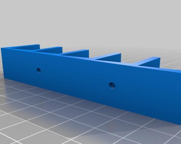 壁挂式DVD架 3D模型  图2