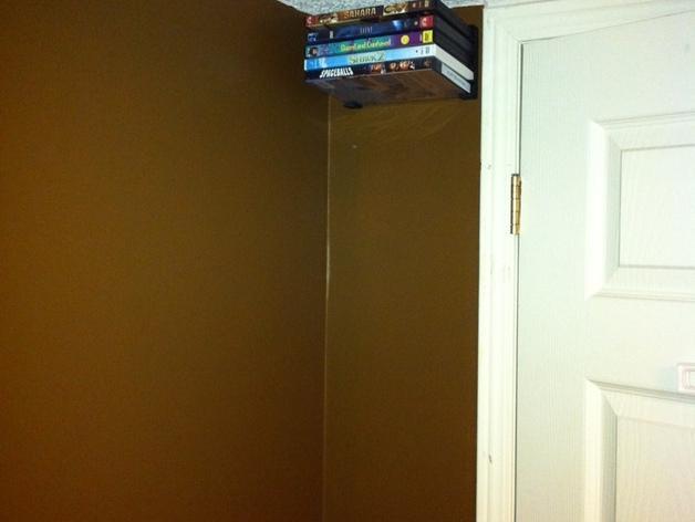 壁挂式DVD架 3D模型  图6
