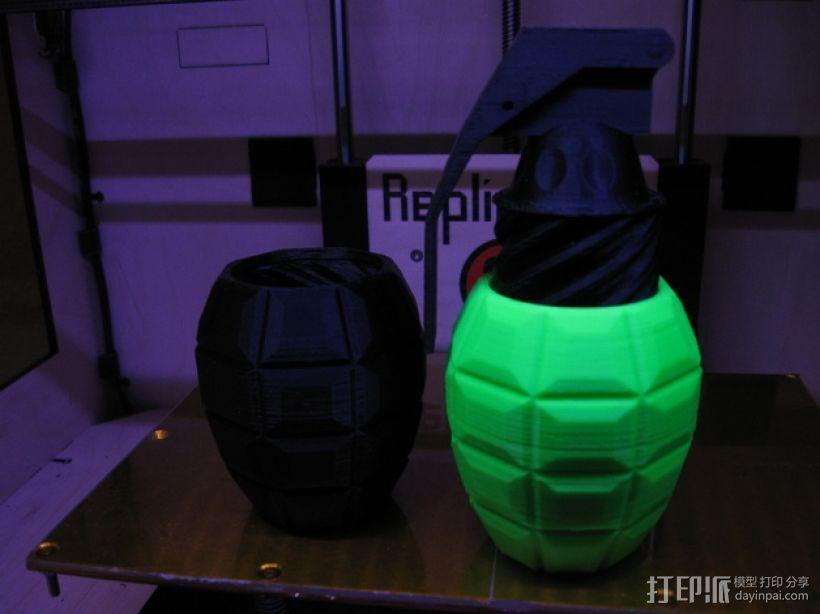 手榴弹形容器 3D模型  图1