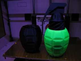 手榴弹形容器 3D模型
