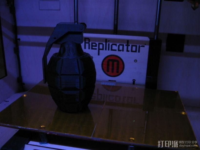 手榴弹形容器 3D模型  图2